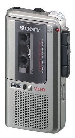 Buy the Sony M-570V Microcassette Voice Recorder on TMGDeals.com