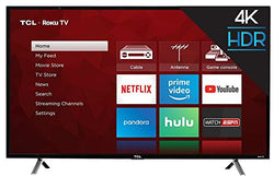 TCL 43 Inch Ultra HD 4K Roku Smart LED TV