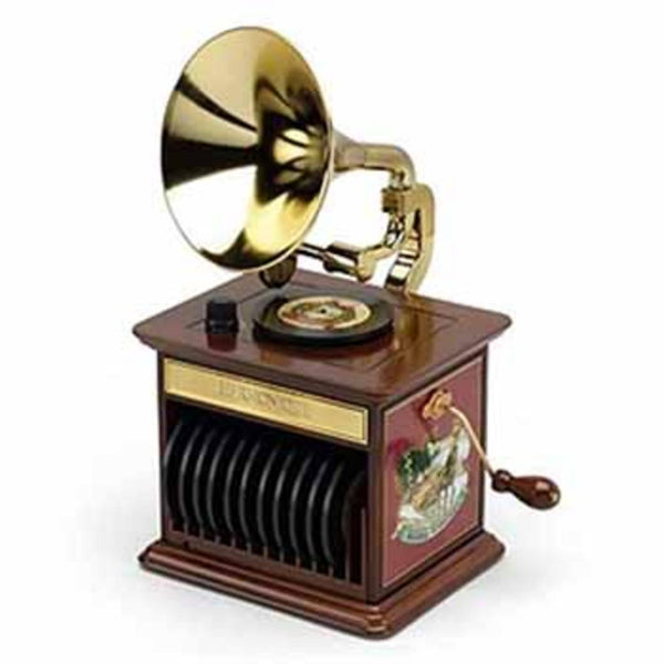 Mr. Christmas Animated & Musical Harmonique Gramophone