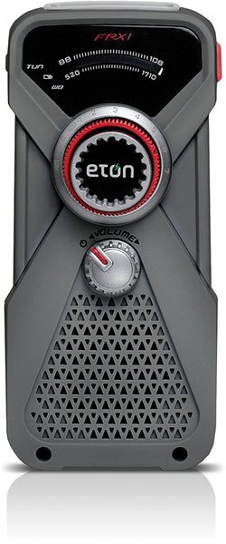 Eton Hand Turbine AM/FM Weather Band Radio and LED Flashlight NFRX1