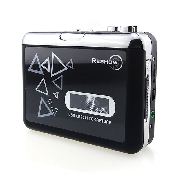 Retro Style Cassette Player Walkman with Tape To MP3 Converter