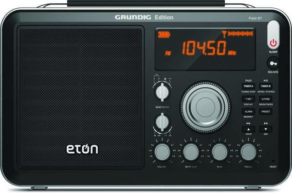 Eton Field AM / FM / Shortwave Radio with Bluetooth, Model NGWFBTB