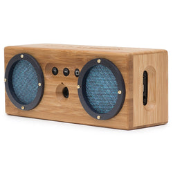 BONGO Bluetooth Classic Bamboo Wood Wireless Portable Speaker
