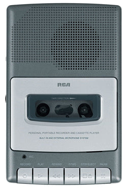 Buy RCA RP3504 Cassette Shoebox Voice Recorder