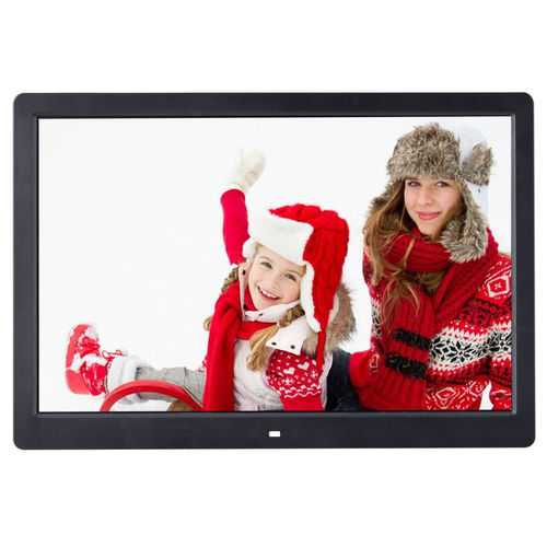 "15"" TN LCD Digital Photo Frame with Remote Control"