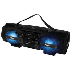 NAXA MP3/CD Bass Reflex Boombox and PA System with Bluetooth