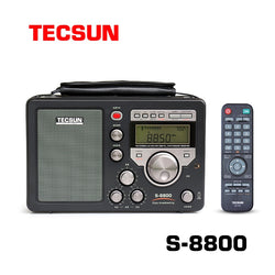 Tecsun S-8800 High Performance Radio with AM/FM, SSB and Shortwave Band