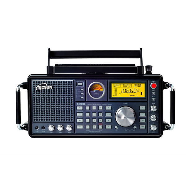 TECSUN S-2000 SHORTWAVE Radio Dual Conversion PLL FM MW SW LW SSB Air Band
