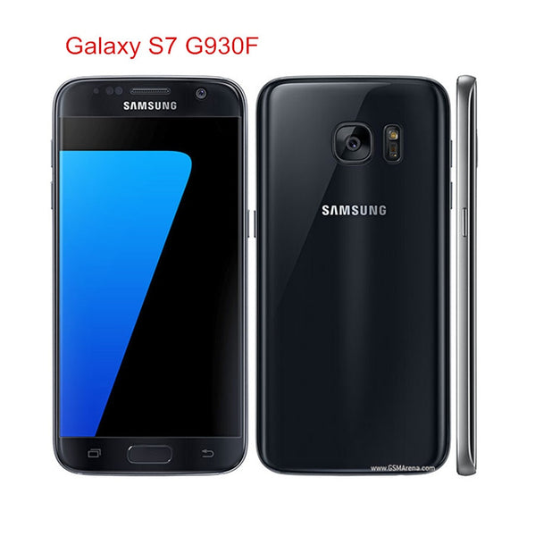 "Samsung Galaxy S7 G930F Original Unlocked LTE Android Mobile Phone Octa Core 5.1"" 12MP 4GB RAM 32GB ROM Exynos NFC Fingerprint"