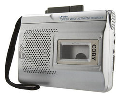 Coby Voice Activated Cassette Recorder