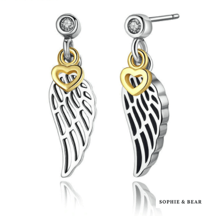 Siberia - Angel Wings Earrings