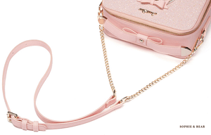 Alice - Pink Embroidered Bag