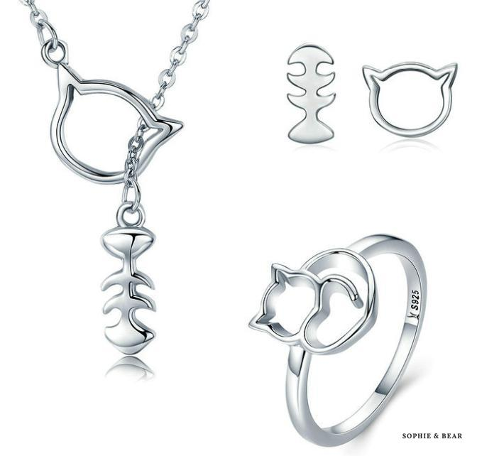 Siberia - Kitten Chic Silver Set