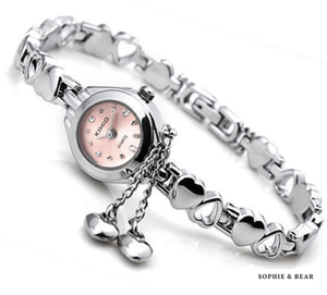 K&M - Heart Bracelet Watch