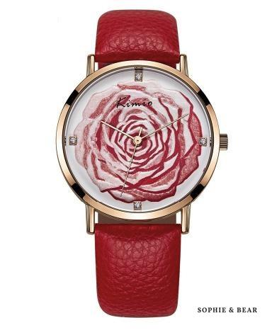 K&M 3D Rose Watch