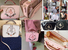 Anastasia - Ballet Embroidery Bag
