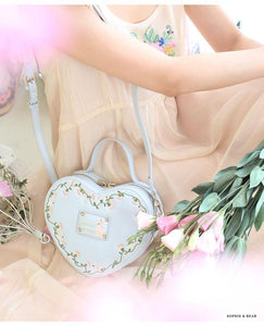 Alice - Lolita Heart-Shaped Bag