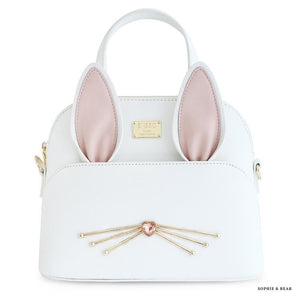 Alice - White Bunny Bag