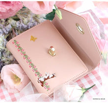 Alice -Pink Floral Wallet-Card Bag