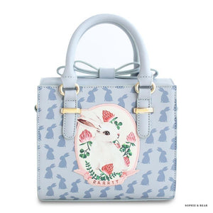 Alice -Bow Rabbit Hand Bag