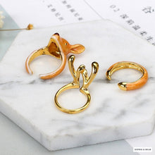 Siberia - 3pcs/Set  Reindeer Rings
