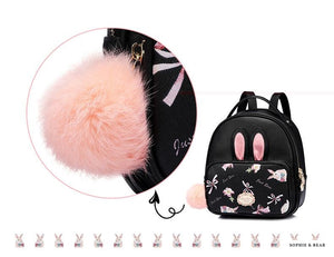 Lolita Black Backpack