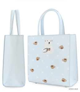 Emilie - White Polar Loves Bag