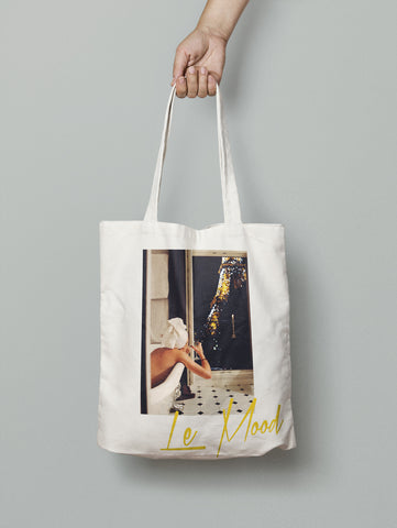 In the Mood for Paris Tote Bag (Neutral)