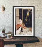 In the Mood for Paris Framed Print