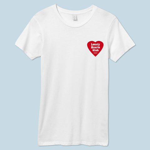 """Lonely Hearts Club"" Womens T-Shirt"