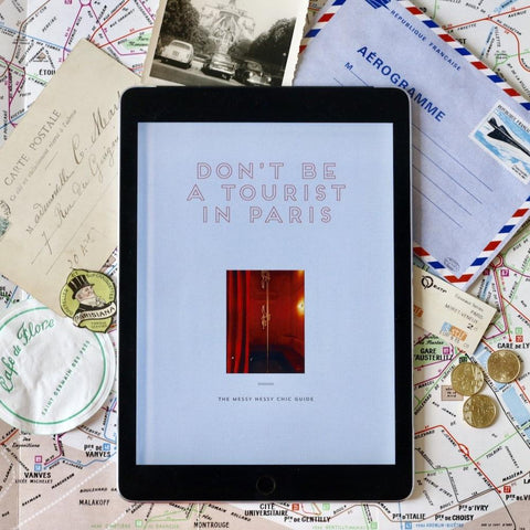 Don't be a Tourist in Paris - eBook