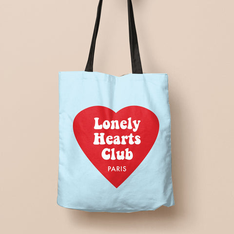 """Lonely Hearts Club"" Canvas Bag"