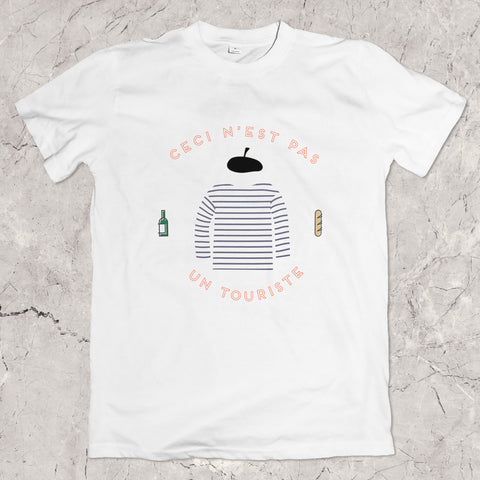 """Not a Tourist"" Unisex T-Shirt"
