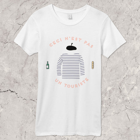 """Not a Tourist"" Womens T-Shirt"