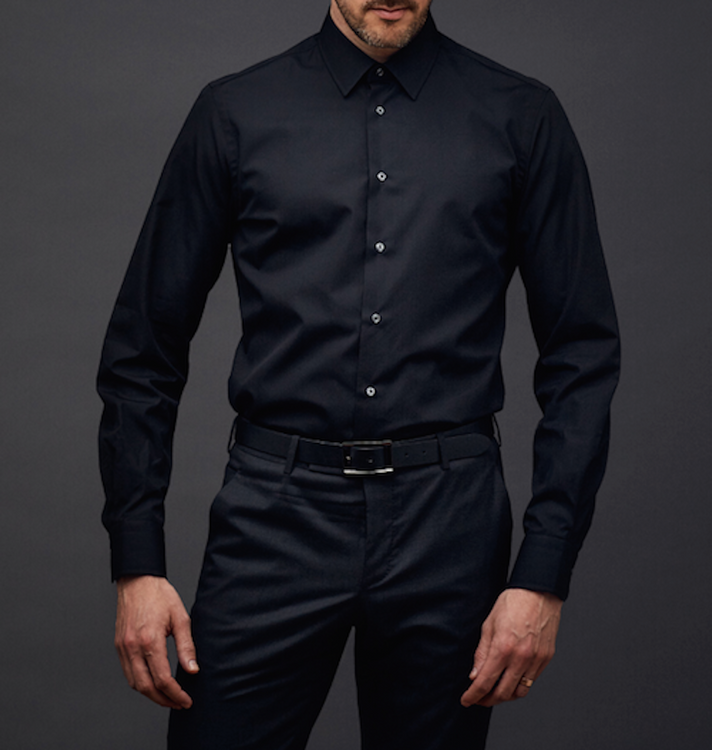 Black shirts are cool and sexy. How to wear them with style?