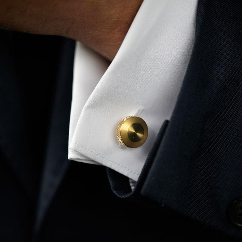 Oliver Cufflinks Brass