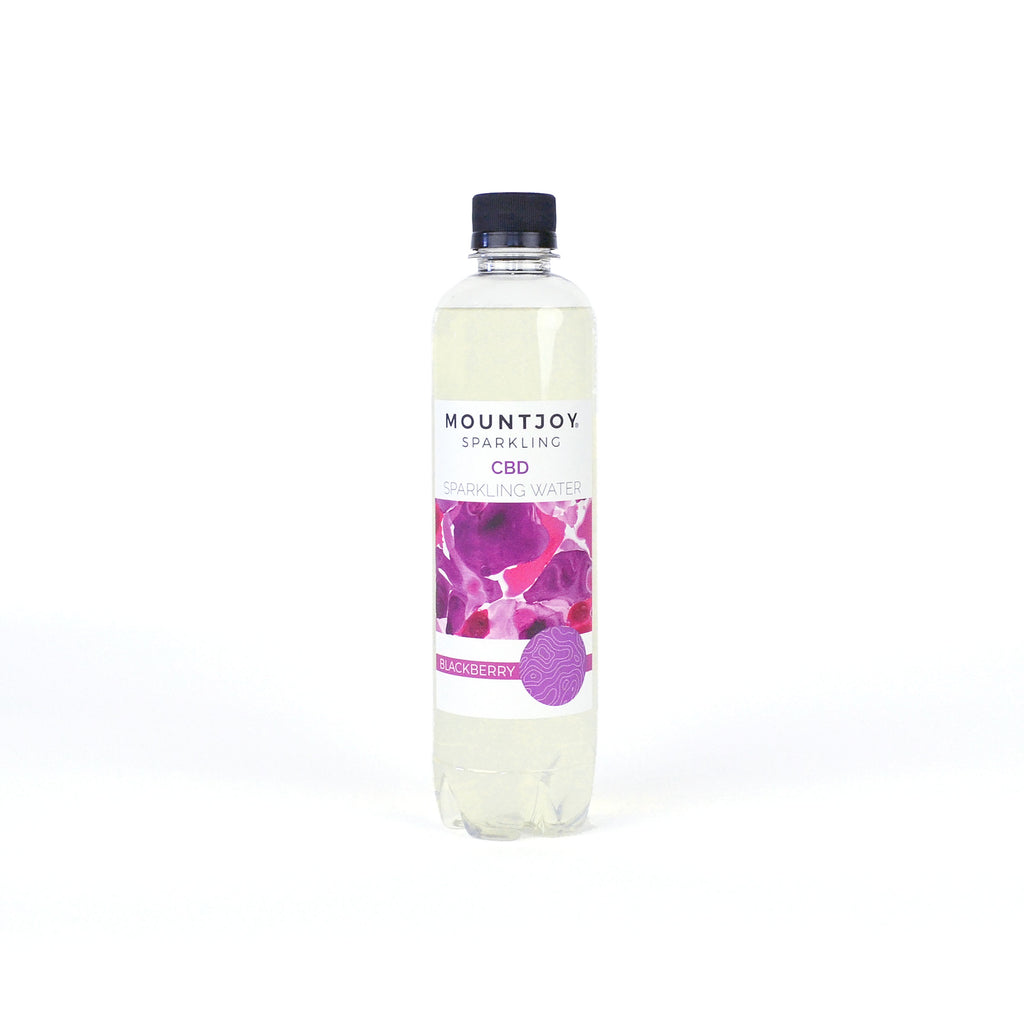 Mountjoy Sparkling CBD Blackberry 16 oz