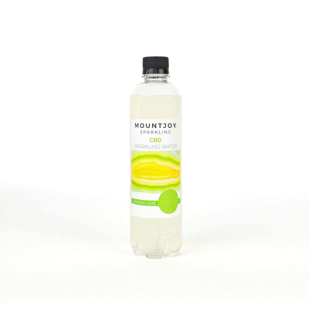 Mountjoy Sparkling CBD Lemon Lime 16 oz