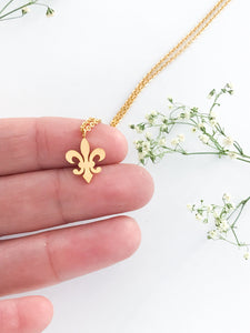Fleur De Lis Necklace Victoria Collection