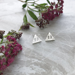 Harry Potter and the Deathly Hallows Earrings
