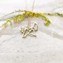 Geometric Fox Necklace Victoria Collection
