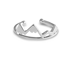 Silver Mountain Victoria Ring