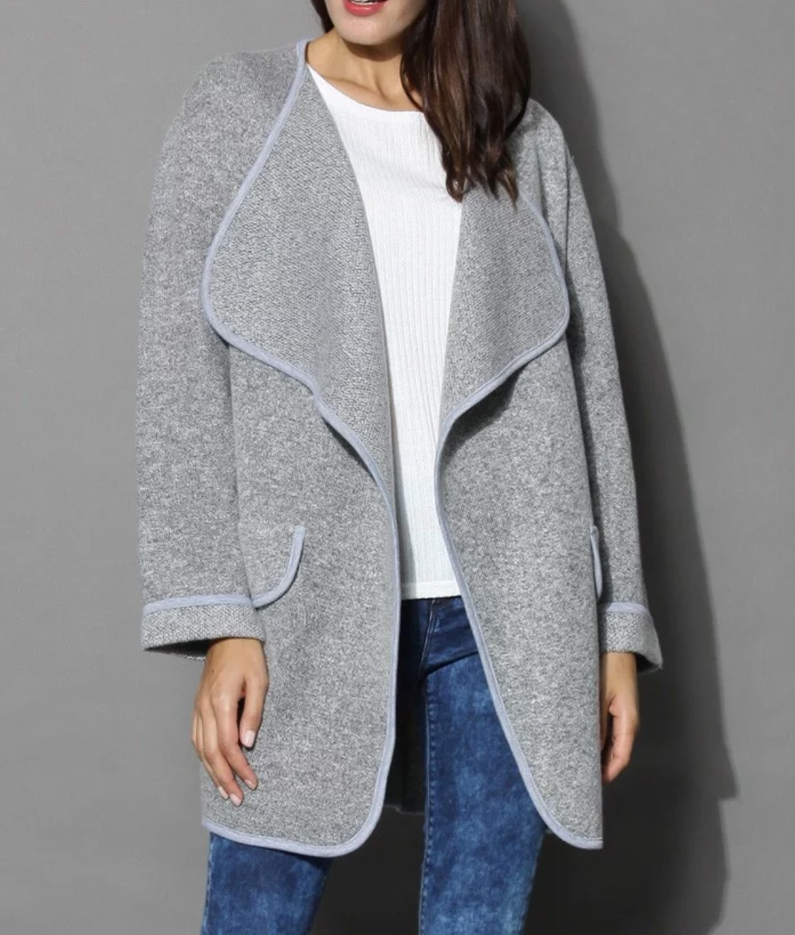 Kendall Cotton Long Cardigan Sweater Jacket – Altitude Boutique 01a525c1f