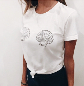 Mermaid Vibes Sea Shell Top