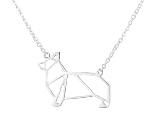 Corgi Necklace Victoria Collection