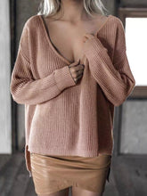 Roxanna Rose Off the Shoulder Knit Sweater