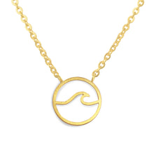 Simple Wave Necklace Victoria Collection