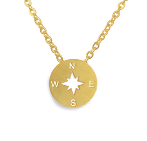 Compass Necklace Victoria Collection