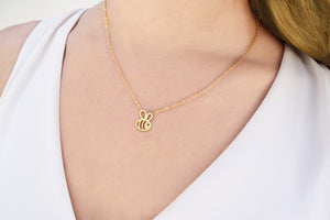 Bumble Bee Victoria Necklace
