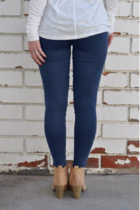 Motorcycle Jeggings Midnight Blue